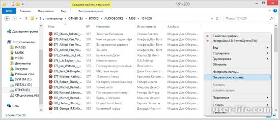 Как получить список файлов из папки в текстовом виде