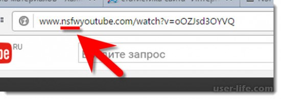 Просмотр удаленного видео с YouTube