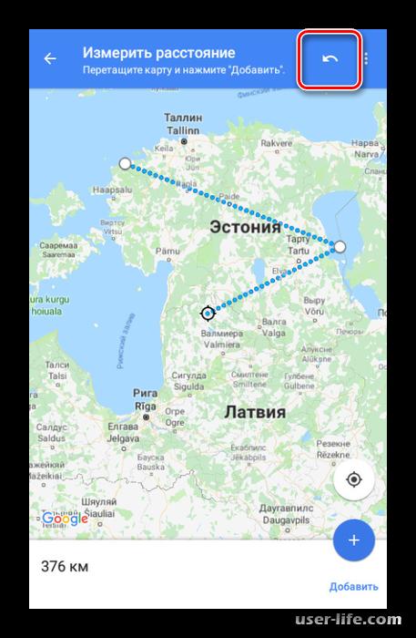 Как включить линейку на Гугл Картах