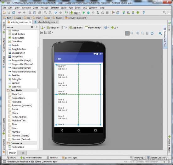 Конструкторы для создания мобильных приложений Андроид онлайн