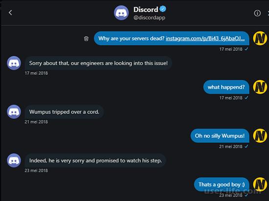 Как написать в техническую поддержку Discord