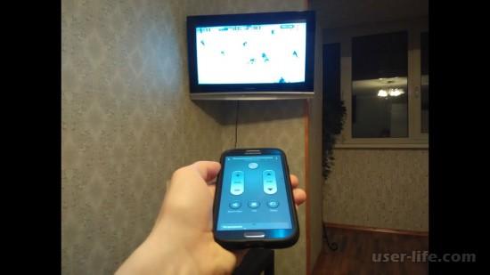 Как управлять телевизором с телефона без ИК порта