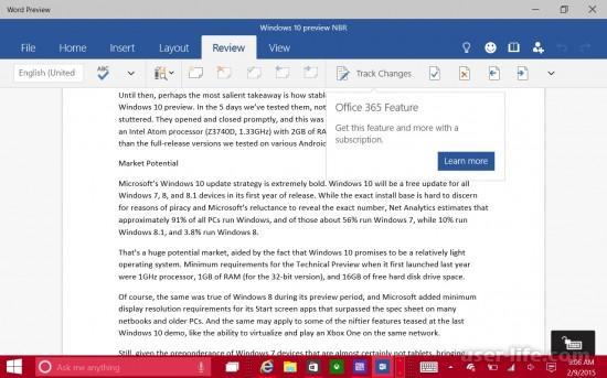 Не работает Word в Windows 10