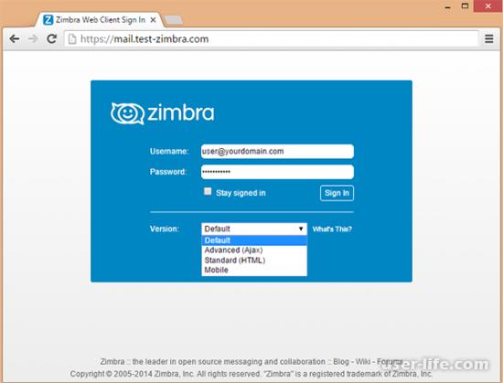 Zimbra – электронная почта для корпоративного использования