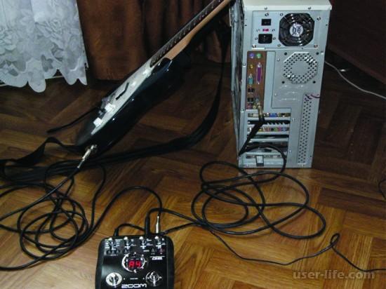 Как подключить гитару к компьютеру